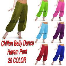 Bauchtanz Harem Hosen Boho Hippie Chiffon Harem Yoga Hosen Frauen Kostüme C14