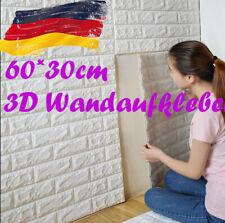 3D Ziegel Wasserdicht Selbstklebend Wandaufkleber Wand Panel Aufkleber Dekor PD