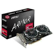 MSI Radeon RX 580 ARMOR 8G OC 8GB GDDR5 GPU (Flawless Condition)