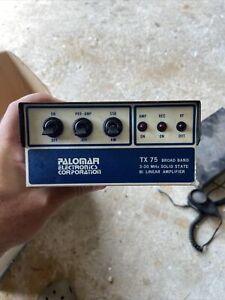 Palomar TX75 - Bi Linear Amplifier - CB / Ham Radio Amp