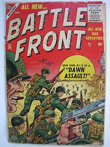 Battlefront #35 (Sep 1955, Marvel) [GD 2.5]