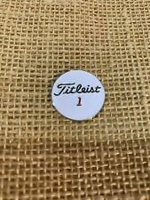 Titleist Metal Ball Marker, Magnetic, 22mm Diameter, NEW