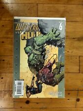Marvel Ultimate Wolverine VS Hulk #6 Unread Condition