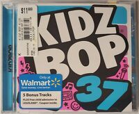 NEW Kidz Bop 37 Exclusive Exclusive Edition Bonus 20 Tracks CD Kids Walmart kid