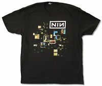 Nine Inch Nails Cube Tension Tour 2013 Black T Shirt New Official Adult NIN