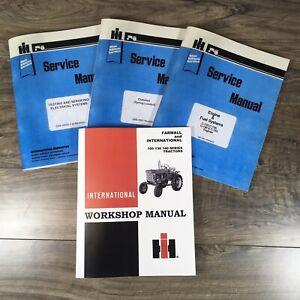 FARMALL and INTERNATIONAL 100 130 140 TRACTOR SERVICE MANUAL REPAIR SHOP BOOK IH