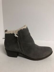 Lucky Brand, Baselsher Leather Womens Ankle Bootie Size 8 M