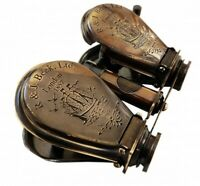 Antique Style Binocular Brass London 1857 R & j Beck Ltd. Replica
