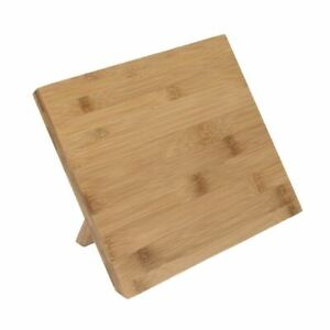 Vogue Magnetic Knife Holder Bamboo Wood 190(H) x 140(W) x 245(D)mm
