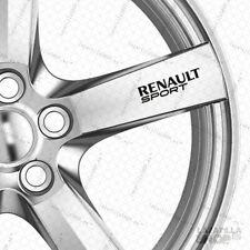 5x Sticker RENAULT SPORT pegatina Vinilo para llantas coche RENAULT Calidad8años