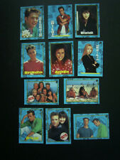 TOPPS 1991 ~  BEVERLEY HILLS 90210 CARD-STICKERS SET OF 11 (e19)