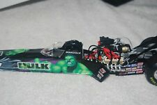 Snap on tools Incredible Hulk NHRA top fuel dragster Doug Herbert Marvel