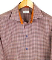ETON Men Shirt Contemporary Fit Formal Top Size 41 16 HZ204