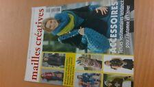 rare collector revue magazine MAILLES CREATIVES tricot numero 11