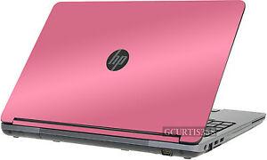 PINK Vinyl Lid Skin Cover Decal fits HP ProBook 655 G1 Laptop
