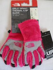 The North Face Gloves Denali Girls Thermal Etip Pink Touchscreen Small S