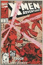 X-Men Adventures #4 : Vintage Marvel comic book from February 1993