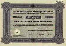 Brennabor Werke 1938 Brandenburg Havel ZF Friedrichshafen 1000 RM Fahrräder Auto
