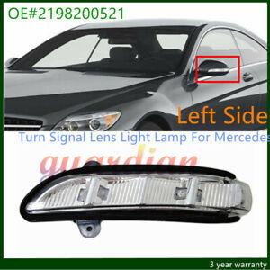 Left Side Mirror Turn Signal Lens Lamp For Mercedes CL550 CL600 E320 E350