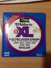 + set 6 corde d'addario muta chitarra elettrica 09 /42 boomers