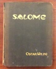 "Vintage Gay Literature ""SALOME"" By Oscar Wilde From 1927 By E P Dutton & Co.  Il"