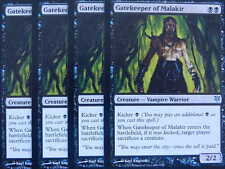 XXX 4x GATEKEEPER OF MALAKIR englisch sorin vs. tibalt (vampire black) NM/MINT