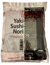 Yaki Sushi Nori Seaweed 50 Full Sheets