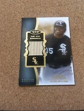 Frank Thomas 2012 Topps Tier One Relic Game Used Bat 148/150 Chicago White Sox