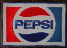 """PEPSI Sew On Large Uniform Jacket Embroidered Patch 9"""" x 6"""""""