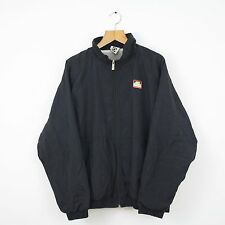 Vintage NIKE 90s Challenge Court Black Shellsuit Jacket | Retro Athletic | XL