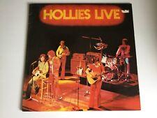 HOLLIES LIVE Vinyl LP br Music BRMC 123 Live Album in 1976 inc.Terry Sylvester