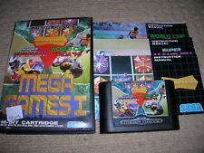 MEGA GAMES 1 - Rare Boxed Sega Mega Drive Game