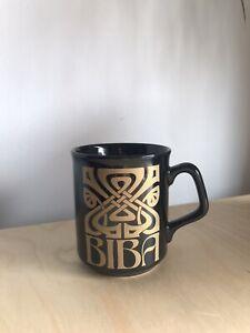 Rare Vintage Biba Mug Cup By Tams Unused Deco Made In England Deadstock