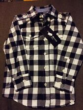 Tooby Doo Flannel Check Long Sleeve 100% Cotton Shirt 2T