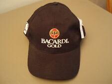 One NWT BACARDI Gold NBA LOGO Black adjustable Cap. Nice!!!