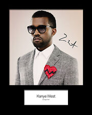 KAYNE WEST #1 Signed Photo Print 10x8 Mounted Photo Print - FREE DELIVERY