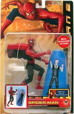 SPIDER-MAN 2 Rapid Punch JONAH w/- Punching BOP Bag ACTION FIGURE 2004 NIB