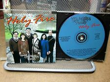 PHILLIPS FAMILY Holy Fire CD southern gospel Christian group 1998 medleys