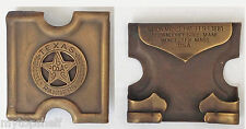 Texas Ranger Buckle Anson Mills Army Co A Soldier Military Brass for ammo Belt