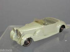 """Vintage DINKY TOYS modèle No.38c LAGONDA Coupé de SPORT """"GRIS version"""""""