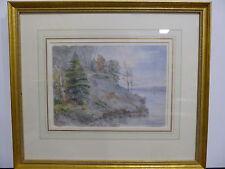 North Shore of Lake Superior, Watercolor from circa 1900