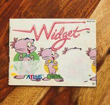 Widget Atlus Manual Only Nintendo NES