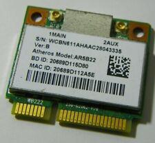 Atheros AR5B22 a/b/g/n Dual-band Wireless BT PCIe Half WCBN611AH WB22