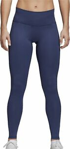 adidas Believe This High Rise Womens Long Training Tights - Blue