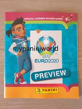 Panini EM 2020 PREVIEW EURO 2020 NEW ALBUM STICKERS SWISS ALBUM IN STOCK NOW