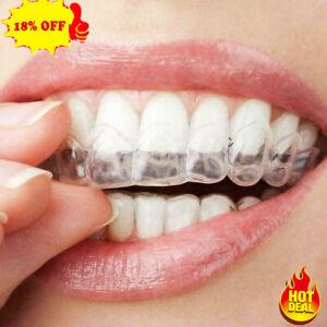 2X Adult Dental Orthodontic Teeth Corrector Braces Tooth Retainer Straighten NEW