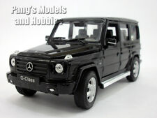 Mercedes G-Class / G-500 Scale 1/24 Diecast Metal Model by Welly - BLACK