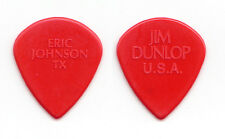 Eric Johnson Dunlop Jazz III Molded Red Guitar Pick 2015