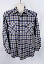 True Vintage Pendleton Pearl Snap High Grade Western Wear Size Medium Flannel