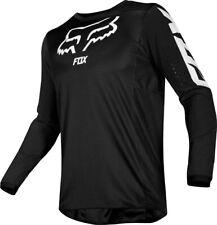 XL Fox Racing Defend Fox Camiseta de manga larga para hombre Negro//Blanco Fox Racing